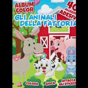 Toys2 Kids - Album color Gli animali della fattoria - n. 60 - bimestrale - 20 maggio 2020