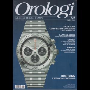 Orologi - n. 335 - mensile - 20/5/2020 -