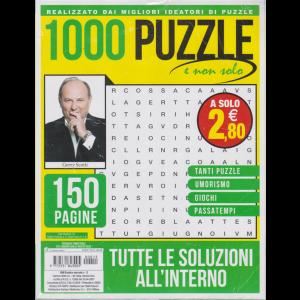 1000 Puzzle e non solo - n. 15 - trimestrale - giugno - luglio - agosto 2020 - 150 pagine