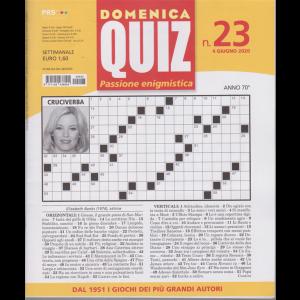 Domenica Quiz - n. 23 - settimanale - 4 giugno 2020