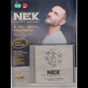 Cd Sorrisi Super -n. 10 - Nek Filippo Neviani - il mio gioco preferito - parte seconda - settimanale - giugno 2020