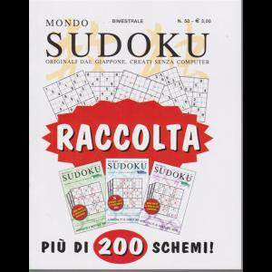 Raccolta mondo sudoku - n. 50 - bimestrale - Più di 200 schemi -
