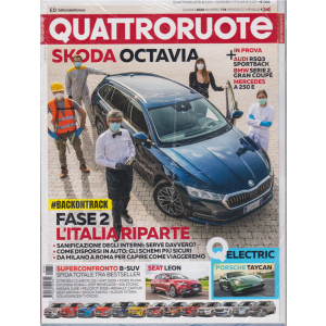 Quattroruote + Q Prove Citycar - n. 778 - giugno 2020 - mensile - 2 riviste