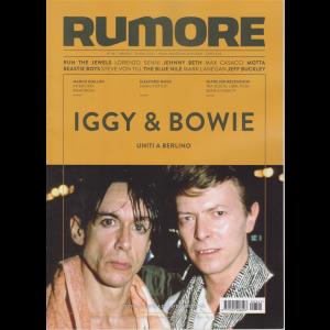 Rumore - Iggy & Bowie uniti a Berlino - n. 341 - mensile - giugno 2020 -