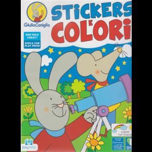 Giulio Coniglio - Stickers e colori - n. 7 - giugno - luglio 2020 - bimestrale
