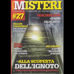 Misteri - n. 27 - bimestrale - 27/5/2020 -