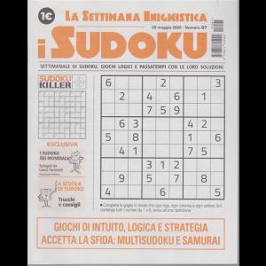 La settimana enigmistica - i sudoku - n. 97 - 28 maggio 2020 - settimanale