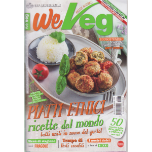 We Veg - n. 65 - bimestrale - giugno - luglio 2020