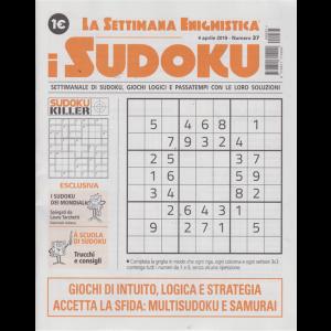 La settimana enigmistica - i sudoku - n. 37 - 4 aprile 2019 - settimanale