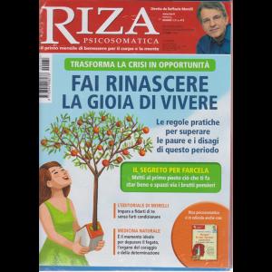 Riza Psicosomatica  - Fai rinascere la gioia di vivere - + I grandi libri di Riza - Scopri le tue risorse interiori - E la mente rifiorisce - n. 472 - mensile - giugno 2020 - 2 riviste
