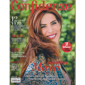Confidenze - n. 24 - 2 giugno 2020 - settimanale
