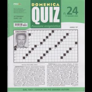 Domeica quiz - n. 24 - 11 giugno 2020 - settimanale
