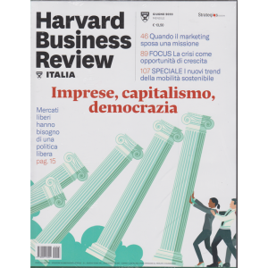 Harward Business Review - n. 6 - giugno 2020 - mensile