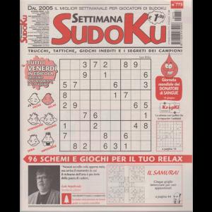 Settimana Sudoku - n. 773 - settimanale - 5 giugno 2020 -