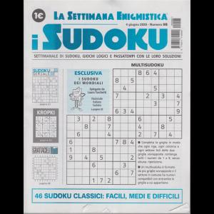 La settimana enigmistica - i sudoku - n. 98 - 4 giugno 2020 - settimanale
