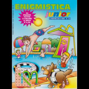 Enigmistica Junior - n. 122 - trimestrale - luglio - settembre 2020 - 52 pagine tutte a colori