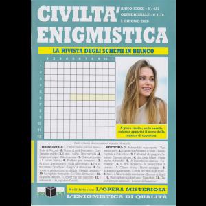 Civilta' Enigmistica - n. 421 - quindicinale - 5 giugno 2020
