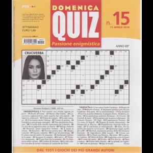 Domenica Quiz - n. 15 - 11 aprile 2019 - settimanale