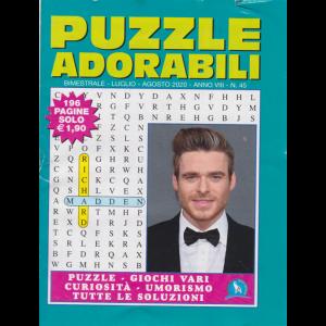Puzzle  Adorabili - n. 45 - bimestrale - luglio - agosto 2020 - 196 pagine