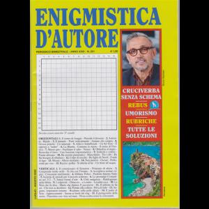 Enigmistica d'autore - n. 201 - bimestrale - luglio - agosto 2020 -