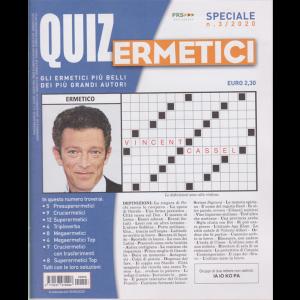 Quiz Ermetici - n. 3 - trimestrale - giugno - agosto 2020 -
