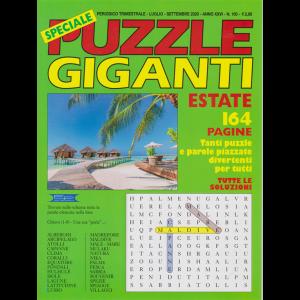 Speciale Puzzle Giganti  estate - n. 100 - trimestrale - luglio - settembre 2020 - 164 pagine -