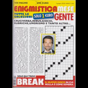 Enigmistica Mese Gente - n. 6 - 5 giugno 2020 - 100 pagine