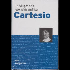 Geni della matematica - Cartesio - n. 17 - settimanale - 4/6/2020 - copertina rigida.
