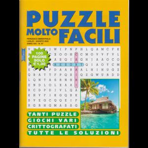 Puzzle molto facili - n. 97 - bimestrale - luglio - agosto 2020 - 100 pagine