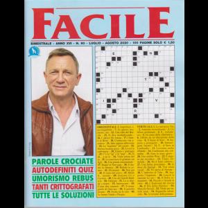 Facile - n. 90 - bimestrale - luglio - agosto 2020 - 100 pagine