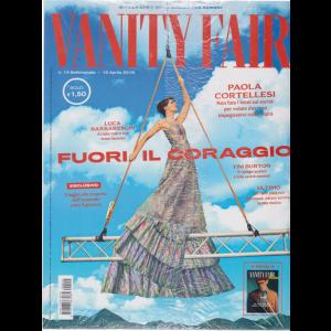 Vanity Fair  + Vaniti Fair uomo - n. 14 - settimanale - 10 aprile 2019 - 2 riviste
