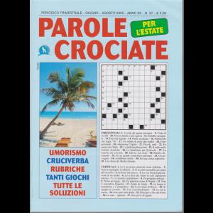 Parole Crociate per l'estate - n. 37 - trimestrale - giugnop - agosto 2020 -