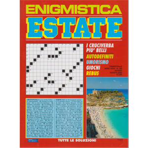 Enigmistica  estate - n. 106 - giugno - agosto 2020 - trimestrale