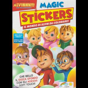 Alvinnn!!! And the chipmunks magic stickers - n. 6 - giugno - luglio 2020 - bimestrale