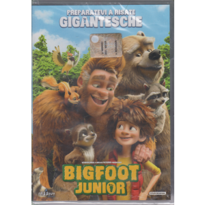 I Dvd di Sorrisi6 - Bigfoot junior - n. 21 - settimanale - 2/6/2020 -