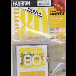 Music Fashion Var.07 - Collezione Graffiti 80 - rivista + cd - n. 3 - maggio - giugno 2020 - bimestrale
