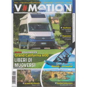 V # Motion - n. 16 - bimestrale - giugno - luglio 2020 -