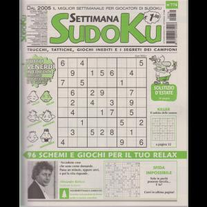 Settimana Sudoku - n. 774 - settimanale - 12 giugno 2020