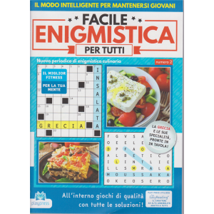 Facile Enigmistica per tutti - n. 2 - bimestrale - 27/5/2020 -