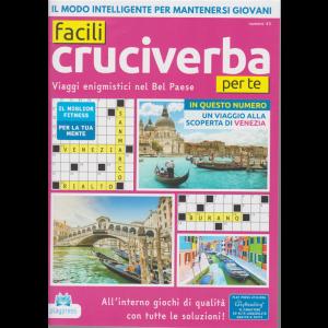 Facili Cruciverba per te - n. 43 - bimestrale - 2/6/2020 -
