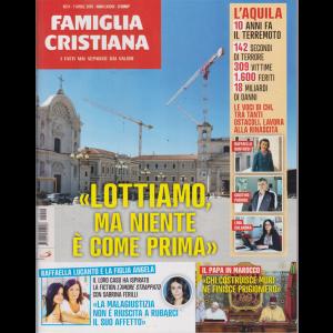 Famiglia Cristiana -n. 14 - 7 aprile 2019 - settimanale -