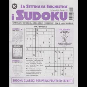 La settimana enigmistica - i sudoku - n. 99 - 11 giugno 2020 - settimanale