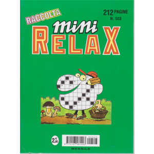 Raccolta Mini relax - n. 503 - giugno 2020 - 212 pagine