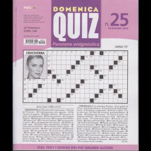 Domenica Quiz - n. 25 - 18 giugno 2020 - settimanale