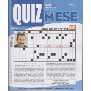 Domenica Quiz Mese - n. 6 - giugno 2020 - mensile