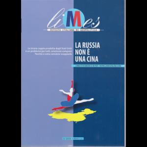Limes - La Russia non è una Cina - n. 5 - mensile - 12/6/2020 -