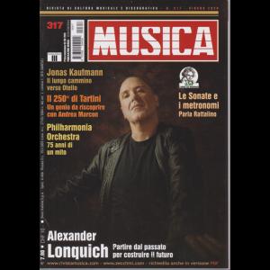 Musica - n. 317 - mensile - 3/6/2020