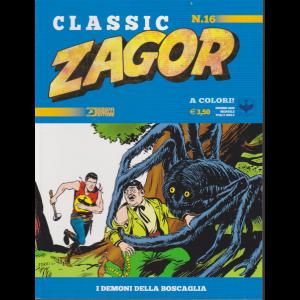 Classic Zagor - n. 16 -I demoni della boscaglia -  giugno 2020 - mensile