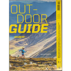 Out door guide Skialper - + Tested for Life  - 2020 - 2 riviste