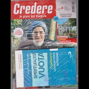 Credere + Il libro Spiritualità vuota di Victor Manuel Fernandez - n. 24 - settimanale - 14 giugno 2020 - rivista + libro